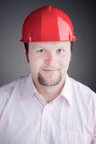 Photo of handsome engineer smiling Royalty Free Stock Photo