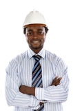 Photo of handsome engineer smiling Stock Images