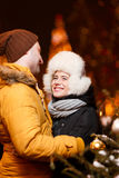 Photo of happy loving couple Stock Images
