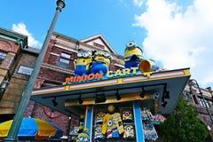 Photo of HAPPY MINION MART shop Royalty Free Stock Photo