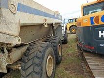 Heavy plant lorries Stock Photography