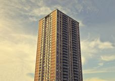 Photo of a High Rise Building Royalty Free Stock Photography