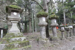Historic, site, shrine, shinto, cemetery, temple, archaeological, tree, torii, stone, carving. Photo of historic, site, shrine, shinto, cemetery, temple royalty free stock image