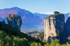 Photo of a Holy Trinity Monastery in Greece Stock Photos