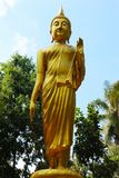 Photo Of Huge Golden Standing Buddha.  royalty free stock photography