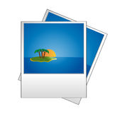 Photo icon Royalty Free Stock Photography