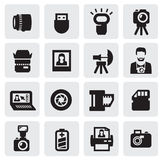 Photo icons Stock Photos