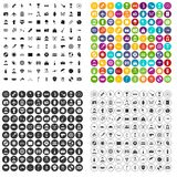 100 photo icons set vector variant. 100 photo icons set vector in 4 variant for any web design isolated on white Stock Image