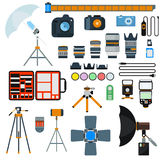 Photo icons vector collection Stock Image