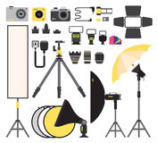 Photo icons vector collection Stock Photo