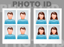 Photo id Royalty Free Stock Images