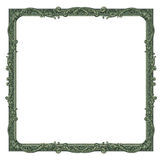 Money Border. Photo-illustration of a border/frame using elements from a dollar bill Royalty Free Stock Image