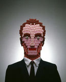 Photo-illustration of a Human made of pills Stock Photography