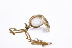 Pocket watch. On white Royalty Free Stock Photography