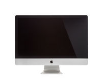 Photo of iMac - monoblock Royalty Free Stock Image