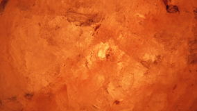 Photo included rock salt lamps from close up. Royalty Free Stock Photography