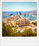 Photo instantanée de Malaga Photographie stock