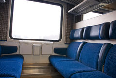 Interior of train Royalty Free Stock Photos