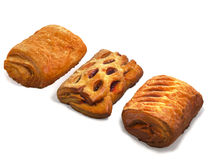 Photo of isolated puff pastries Royalty Free Stock Photo