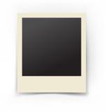 Photo isolated on white. Retro photo with shadow isolated on white Stock Photos
