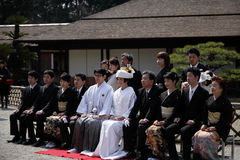Photo japonaise traditionnelle de mariage Photo libre de droits
