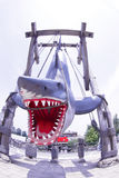 Photo of the JAWS. OSAKA, JAPAN - Nov 26, 2016 : Photo of the JAWS,one of the most famous attraction at Universal Studios JAPAN, Osaka, Japan stock photo