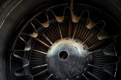 Photo of a jet engine Royalty Free Stock Photos