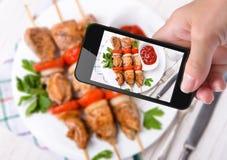 Photo kebab Royalty Free Stock Photos