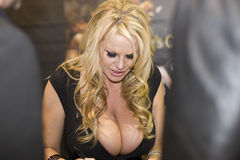 Photo Kelly Madison de convention d'AVN Images libres de droits