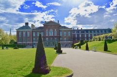 Kensington Palace Gardens London royalty free stock photos