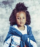 Photo of Kid With Blue Scarf and White Long-sleeve Top stock images