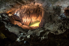 Photo of lake in the cave Royalty Free Stock Image