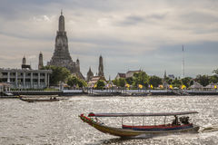 Photo of Landscape Wat Arun Buddhist religious places Stock Image
