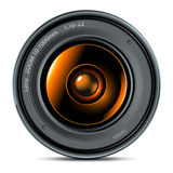 Photo lens Royalty Free Stock Photography