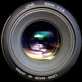 Photo lens Royalty Free Stock Photos