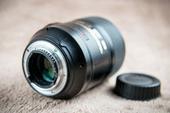 Photo lens back Royalty Free Stock Photos