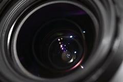 Photo lens closeup Stock Photo