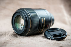 Photo lens front Stock Photos