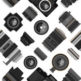 Photo lens pattern vector illustration. Stock Image