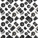 Photo lens pattern vector illustration. Royalty Free Stock Images