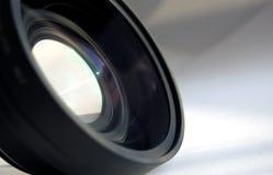 Photo lens. On white background stock photography