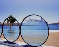 Photo Lens Sculpture Royalty Free Stock Images