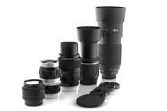 Photo lenses Stock Image
