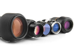 Photo lenses Royalty Free Stock Photography