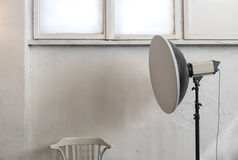 Photo light equipment diffusers Stock Image