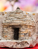 Photo of the little stone cottage Stock Photography