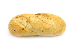 Photo of a loaf of white bread stock photo