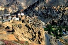 Lamayuru landscape at ladakh india.