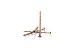 Photo of long yellow screws Stock Image