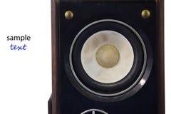 Photo of Loudspeakers enclosure stock image